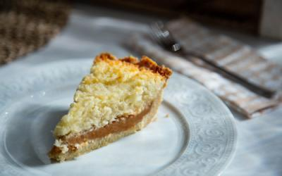 Tarta de Dulce de Leche y Coco in der Pieform