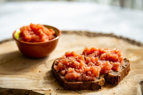 Thermomix Tostada Con Tomate
