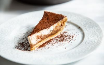 Banoffee Pie in der Pieform