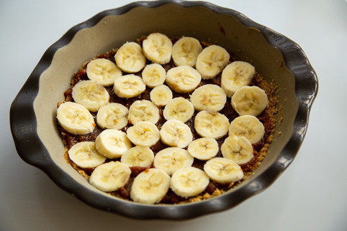 Pampered Chef Banoffee Pie Bananenschicht