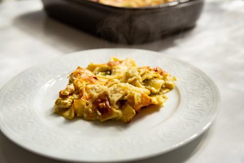 Pampered Chef Brokkoli-Lachs-Auflauf
