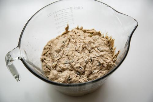 Pampered Chef Zaubermeister Emmer-Dinkel-Buttermilchkruste Teig vor dem Gehen
