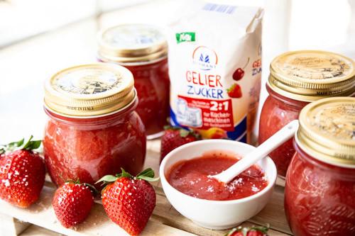 Thermomix Erdbeer-Kokos-Marmelade