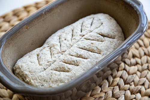 Pampered Chef Körnerbrot mit Lievito Madre Teig