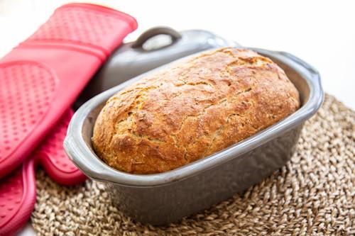 Pampered Chef Vollkorn-Einkorn-Dinkel-Brot