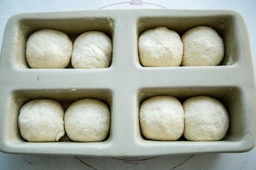 Pampered Chef Mini-Kastenform Toastbrot Rohlinge
