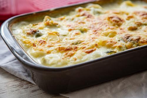 Pampered Chef Rosenkohl-Kartoffel-Auflauf Ofenhexe