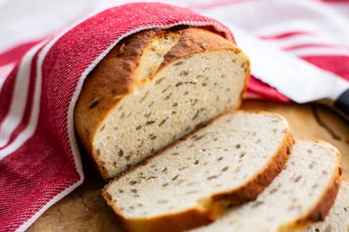 Pampered Chef Zaubermeister Dinkel-Kokos-Brot