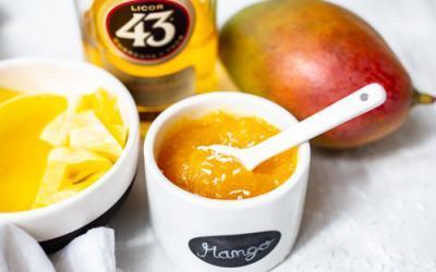 Mango-Marmelade mit Likör 43 im Thermomix
