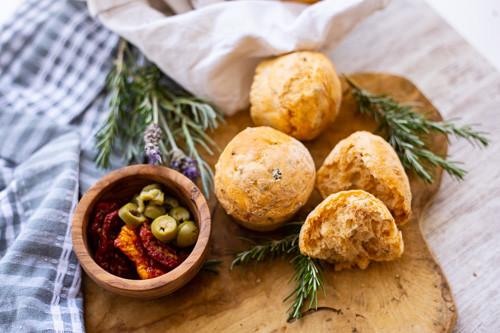 Pampered Chef Mediterrane Muffin-Brötchen