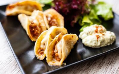 Mini-Tacos mit der Muffinform Deluxe