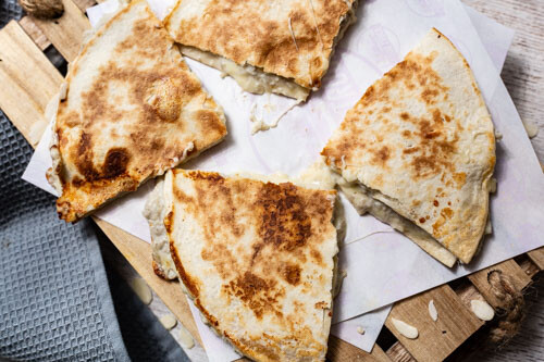 Thermomix Quesadilla