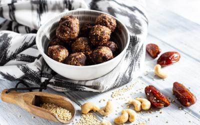 Quinoa Energy Balls mit dem Thermomix