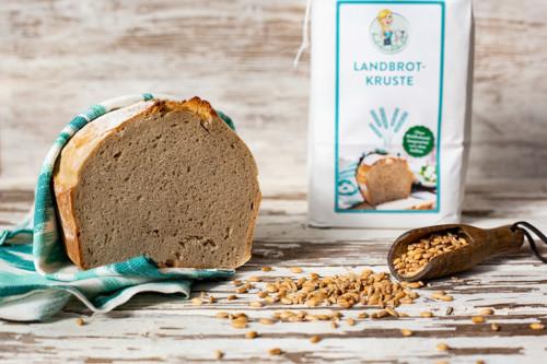 Brotbackmischung Landbrotkruste