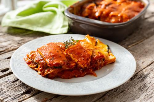 Pampered Chef vegetarische Lasagne