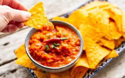 Salsa-Sauce für Nachos im Thermomix