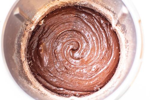 Thermomix zähflüssiger Teig Chocolate Crinkle Cookies