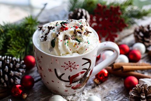 Thermomix Weihnachtsmilch mit Happy Sprinkles