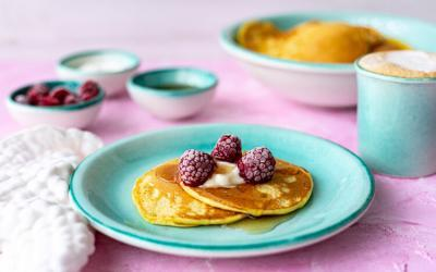 Joghurt-Pancakes mit dem Thermomix