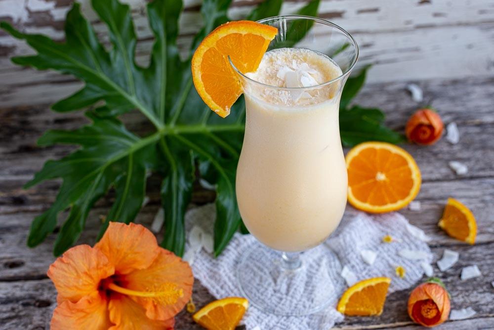 Thermomix Orange Sunset Cocktail