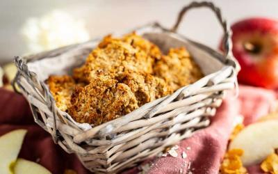 Apfel-Hafer-Kekse mit dem Thermomix