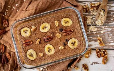 Baked Oatmeal mit dem Thermomix
